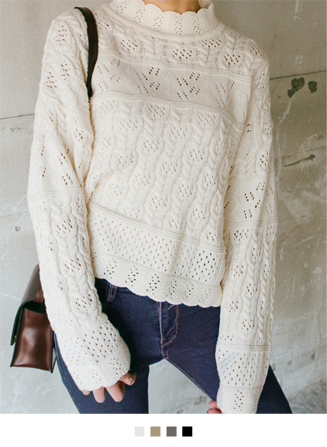 Lily lace sweater