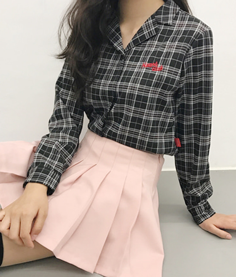 Heart Check Double Shirt