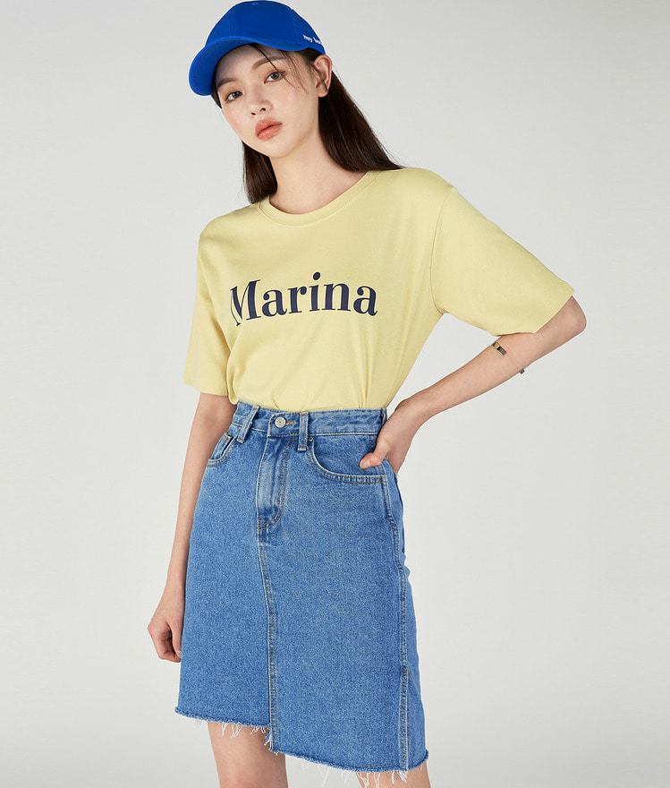 Marina Lettering Top