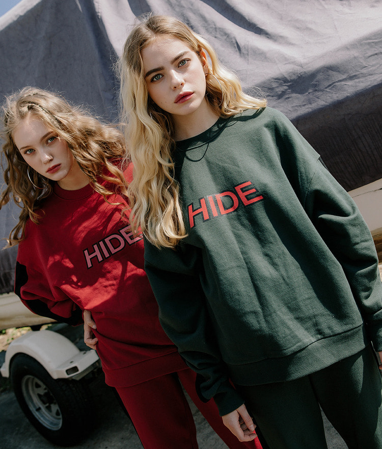 HIDE Logo Sweat Shirt