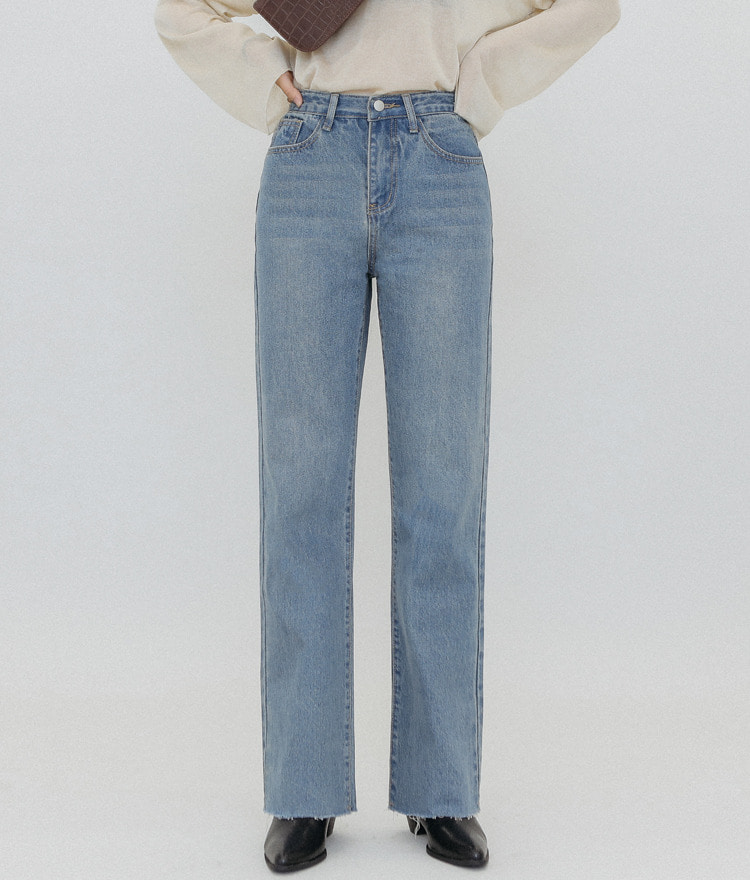 Denim Straight Washing No 001