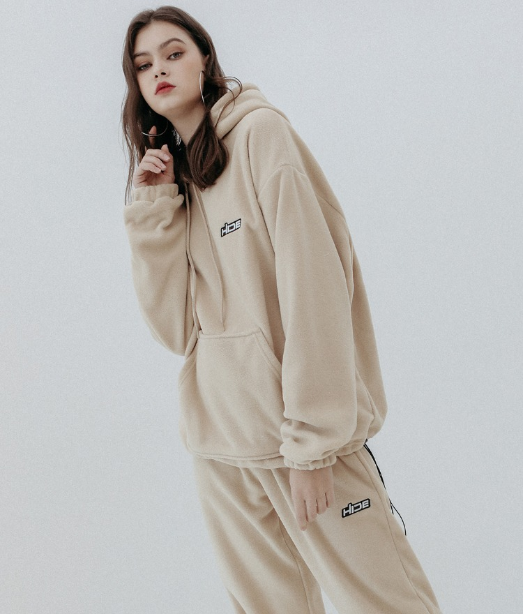 HIDE Future Fleece Hoodie (Beige)