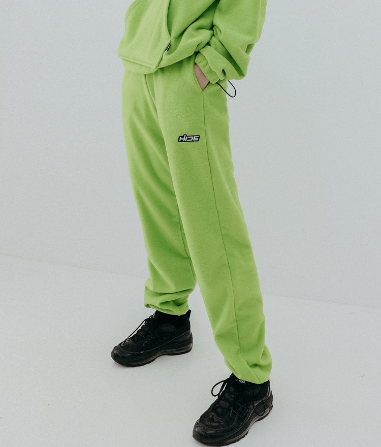 HIDE Future Fleece Pants (Light Green)