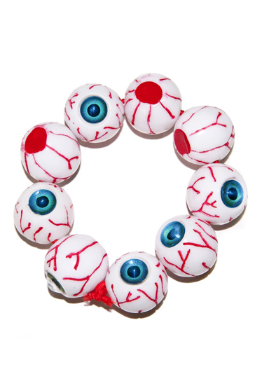 KREEPSVILLE666  Eyeball Bracelet  (BLUE)