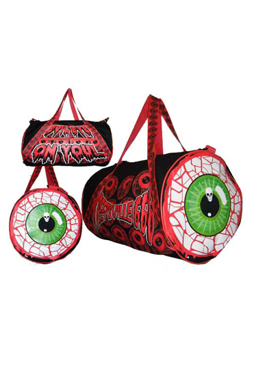 KREEPSVILLE666Eyeball Barrel Bag